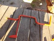Allis Chalmers C Tractor Ac Brake Pedal And Mounting Pivot Shaft