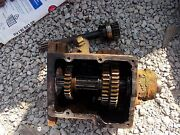 Allis Chalmers Wc Tractor Ac Transmission W/ Gears And Case And Input Drive Shaft