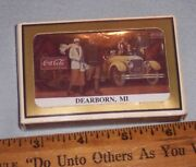 1993 The Coca Cola Collectors Convention Dearborn Michigan Playing Cards