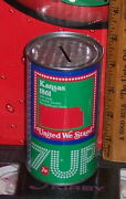 1976 7up 50 States Kansas Steel 12 Ounce Coin Bank