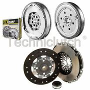 Nationwide 3 Part Clutch And Luk Dmf For Peugeot 307 Cc Convertible 2.0 Hdi 135