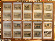 Studebaker Hand Painted Dealer Sign Circa 1904-1920 Old Catalog 39 X 29 Look