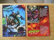 1994 Topps Mars Attacks Archives The Comics Card 69 Signed Ken Steacy Artwork
