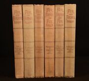 1894-1904 6vol Fur And Feather And Fin Series Salmon Pheasant Trout Partridge Gr