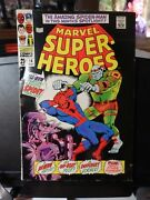 Marvel Super-heroes 14-1967-all-new Feature-length Spider-man Thriller-1stkirby