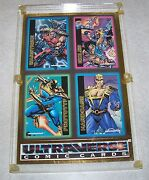 Skybox Limited Edition Ultraverse Comic Cards Framed Numbered Retailer Promo