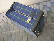 Madler Vintage Car Luggage Suitcase Autokoffer Mandaumldler With Key Nos Condition