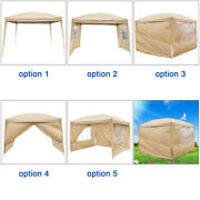 3 X 3m Two Doors And Two Windows Practical Waterproof Folding Tent