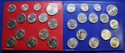 2013 Us Mint Set. Complete. 28 Coins. Includes 14 Each P And D Mint. As Pictured
