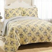 Laura Ashley Linley King Size Quilt Set Brand New