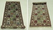 Runner Hand-knotted 2.6 X 12 All-over Checked Garden Bakhtiari Talent Rug