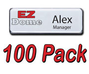 Ez Dome Badges 100 Kit Includes 100 Each Domes Backs Magnets And Pins Ez Template