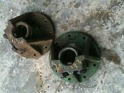 Oliver 770 Rowcrop Tractor Original 9 Bolt 3 And039uand039 Bolt Mount Rear Axle Hub Hubs
