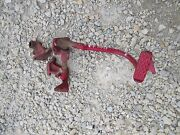 Farmall B Rowcrop Tractor Ih Right Brake Pedal And Lock Bar And Mounting Brackets