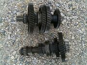Ford 8n Tractor Transmission Pair Set Of Upper And Lower Gear Gears And Shaft Shafts