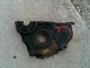 Ford 8n Tractor Ih Good Engine Motor Front Cover Panel