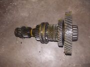 Ford 8n Tractor Transmission Main Bottom Lower Low Drive Gears And Shaft