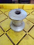 Barlow 15 Chrome Plated Bronze Sailboat Winch Works Great