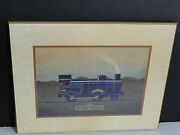Lovely The Live Steam Powered Locomotive Wall Artwork Reproduction. Nice