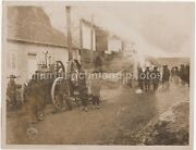 A Threshing Machine Worked By French Troops Peronne France Ww1 Press Photo M030