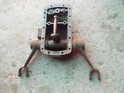 Ford 9n Tractor 3pt Hitch Top Rockshaft Lift Hold Bracket Arms Arm And Cover
