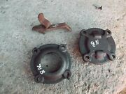 Ford 8n Tractor Original Transmission Cover Holder Caps Cap And Bracket