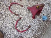 Farmall Mccormick W9 Tractor Original Ih Horseshoe Drawbar Axle Bracket And Clamps