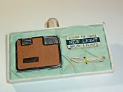 Zoom New-light Vintage Rare Automatic Lighter -ovp - 1950 -made In Japan- Nice