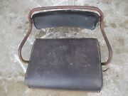 International 300 350 Utility Tractor H Deluxe Seat Assembly W/ Cushion
