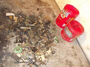 John Deere 420 W Tractor Jd Box Of Bolts Parts Pieces Nuts Covers Etc