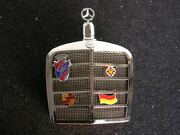 Mercedes Accessory Vintage Car Grill Liquor Bottle Mb With Badge Germany