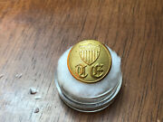Civil War Topographical Engineers Old English Te W/ Shield Coat Button