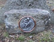 Early Harley Motorcycle Stone Jacket Indian Antique Gift Gloves Bike