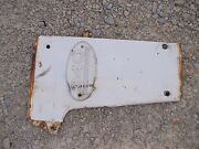 Farmall 340 Rc Tractor Ih Ihc Front Right Radiator Side Cover Panel And Emblem
