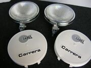Carrera Driving Rallye Fog Lamps Rally Guards With 2 Holder On Porsche 911 Grill