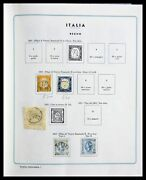 Lot 29130 Collection Stamps Of Italy 1862-1944.
