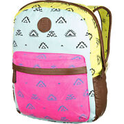 New Billabong Bag Tote Student Backpack Laptop Sleeve Neon Fashion Matters