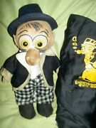 Extremely Rare Antique 1925 Cloth Barney Google Cloth Character Doll Needs Tlc
