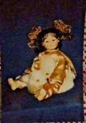Master Piece Gallery Doll Double Joyporcelain Collectors Doll Linda Valentino