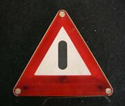 Light Up Dbgm Triangle Accessory Car Bus Perohaus Vw Bug Cox Mercedes Mb Germany
