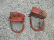 Allis Chalmers Wd Wd45 45 Ac Tractor Axle Mounting Brackets Loader Cultivator