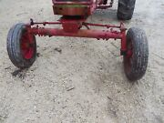 Farmall 460 560 Tractor Wide Front End Widefront Frontend Hubs Rims Tires