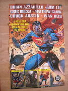 2004 Dynamic Forces Sealed Superman Poster Signed Jim Lee, With Df Coa And Seal