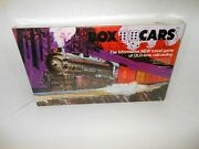 Vintage Box Cars Board Game Old Time Railroad Boxcars Travel Erickson Rare New