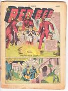 Coverless Hit Comics 6 - 1940 Golden Age 1st Lion Boy Reed Crandall Old Witch