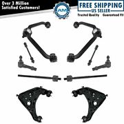 Front Control Arm Ball Joint Sway Bar Link Tie Rod Steering Suspension Kit 10pc