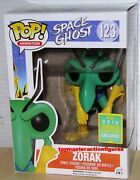 Funko Pop 2016 Sdcc Animation Space Ghost Zorak 123 Summer Convention In Stock
