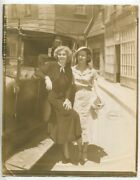 Jean Harlow And Bobby Brown 1936 On Set Glamour Photo Glamorous Hollywood J2971