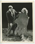 King Kong 1933 Original Fay Wray And Merian Cooper On Set Rko Pictures Photo