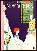 The New Yorker Magazine May 18, 1929 Rea Irvin Wedding Page Boy